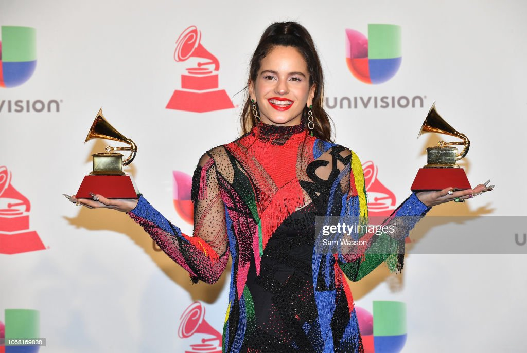 The 19th Annual Latin GRAMMY Awards - Press Room : Fotografía de noticias