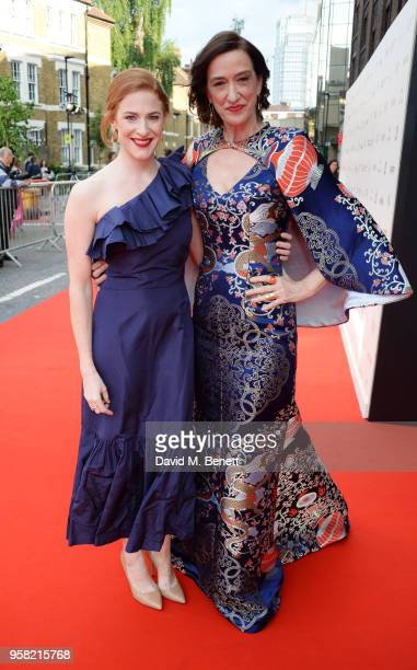 Rosalie Craig and Haydn Gwynne attend The Old Vic Bicentenary Ball to celebrate the theatre's 200th birthday at The Old Vic Theatre on May 13, 2018...