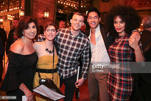 Rosalie Joseph guest Russel Tovey David Lim and Pearl Thusi attend the 25th Anniversary Stockings with Care Gala at The Bowery Hotel on November 3...