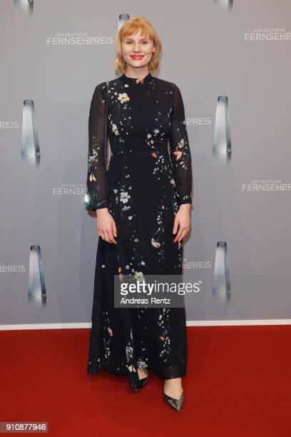 Rosalie Thomass attends the German Television Award at Palladium on January 26 2018 in Cologne Germany