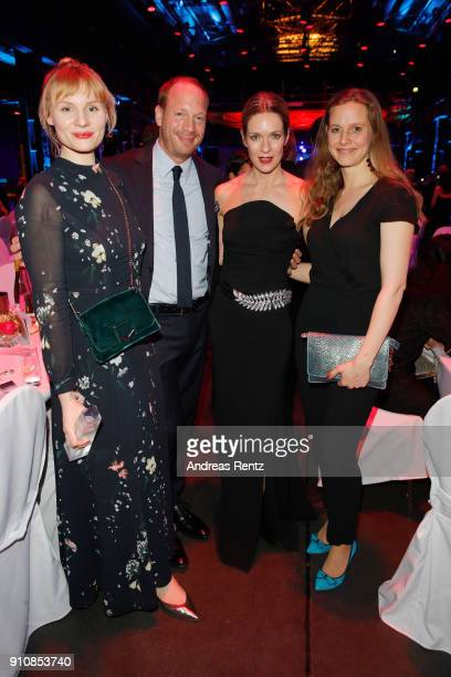 Rosalie Thomass Johann von Buelow Lisa Martinek and guest the German Television Award at Palladium on January 26 2018 in Cologne Germany