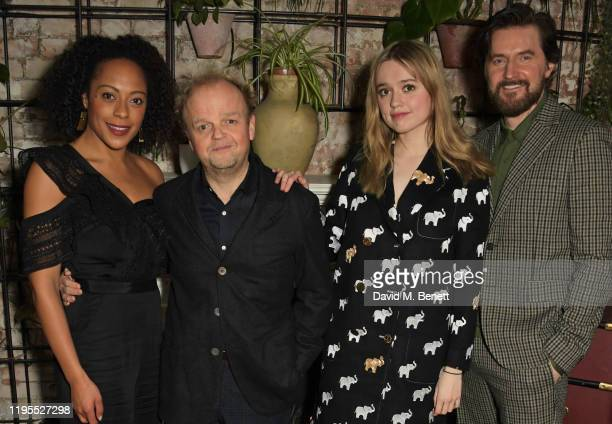 Rosalind Eleazar Toby Jones Aimee Lou Wood and Richard Armitage attend the press night after party for Uncle Vanya at Sophie's on January 23 2020 in...