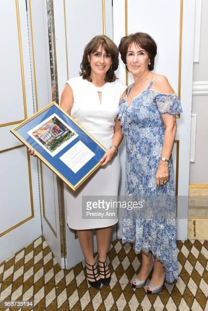 Rosalind Franklin and Caroline Freidfertig attend American Friends Of Soroka 6th Annual Gala Benefit Dinner on May 1 2018 in New York City