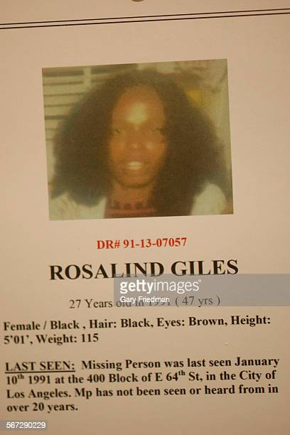 Rosalind Giles one of eight new possible victims in the Lonnie Franklin Jr serial killer Grim Sleeper case
