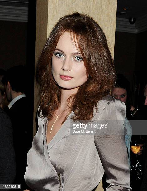 Rosalind Halstead attends a VIP Screening of 'The Artist' hosted by the Weinstein Company at Charlotte Street Hotel on December 11 2011 in London...