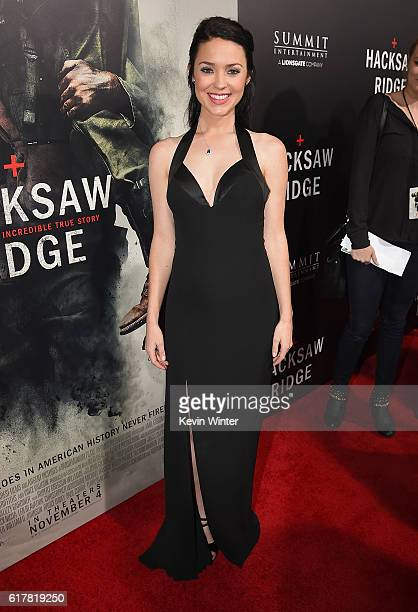 Rosalind Ross attends the screening of Summit Entertainment's Hacksaw Ridge at Samuel Goldwyn Theater on October 24 2016 in Beverly Hills California