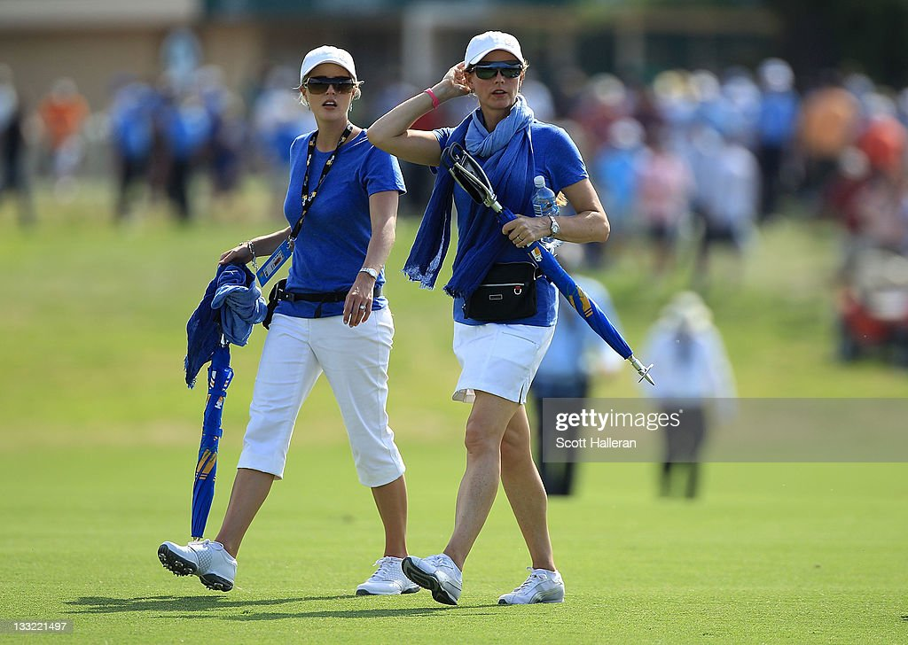 2011 Presidents Cup - Day Two : News Photo