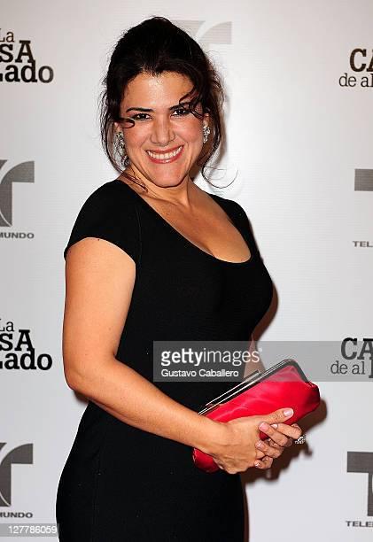 Rosalinda Rodriguez attends Telemundo La Casa de al Lado VIP Premiere at Mandarin Oriental on May 31, 2011 in Miami, Florida.