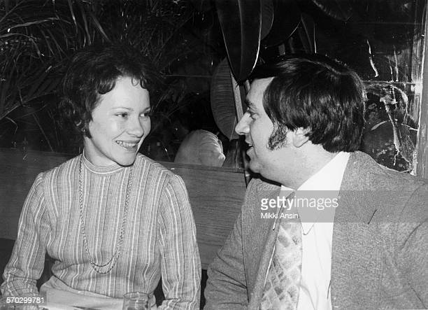 Rosalyn Carter wife of American politician and Presidential candidate Jimmy Carter campaigns in Massachusetts with Mike Athens Massachusetts 1976