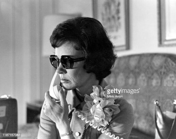 Rosalyn Carter, wife of Presidential candidate Jimmy Carter, campaigns on telephone in Philadelphia in May, 1976.