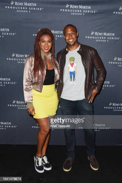 Rosalyn GoldOnwude and guest attends Remy Martin Crowns the Winner of Producers Series Season 5 with Big Sean Mustard on September 26 2018 in Los...