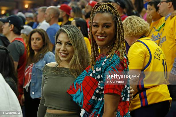 Rosalyn GoldOnwude attends Game Four of the NBA Finals between the Toronto Raptors and the Golden State Warriors on June 7 2019 at Oracle Arena in...