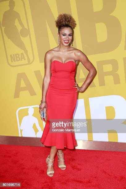 Rosalyn GoldOnwude attends the 2017 NBA Awards at Basketball City Pier 36 South Street on June 26 2017 in New York City