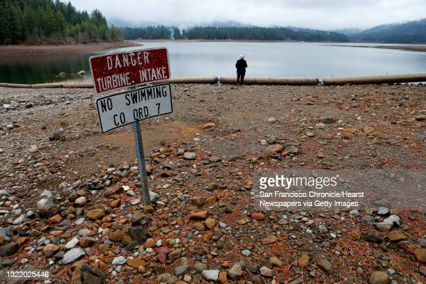 Rosalyn McCoy at Lake Siskiyou in Mt. Shasta City, Calif. On Thursday Feb. 13 explores the lake which she says in her twenty four years living nearby...