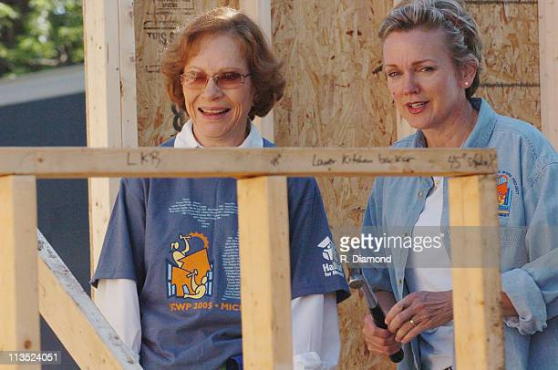 Rosalynn Carter and Michigan Govonor Jennifer Granholm