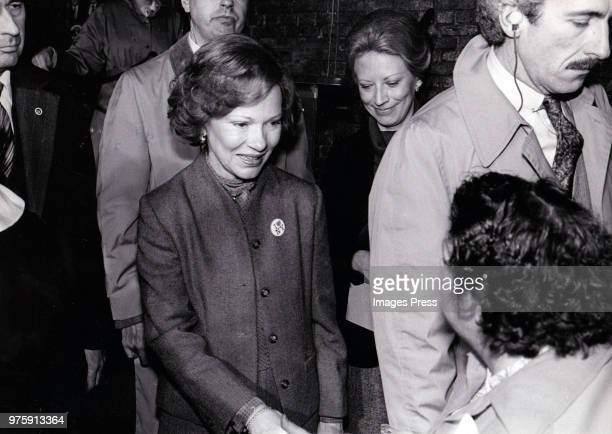 Rosalynn Carter circa 1980 in New York