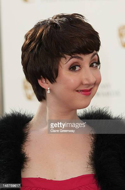 Rosamund Hanson attends The Arqiva British Academy Television Awards 2012 at The Royal Festival Hall on May 27 2012 in London England
