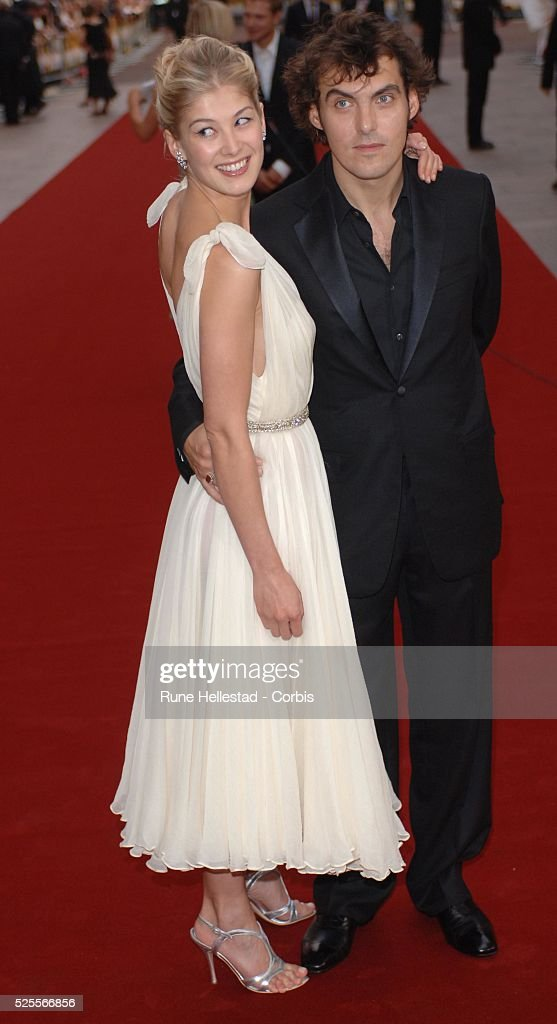 Rosamund Pike and husb...