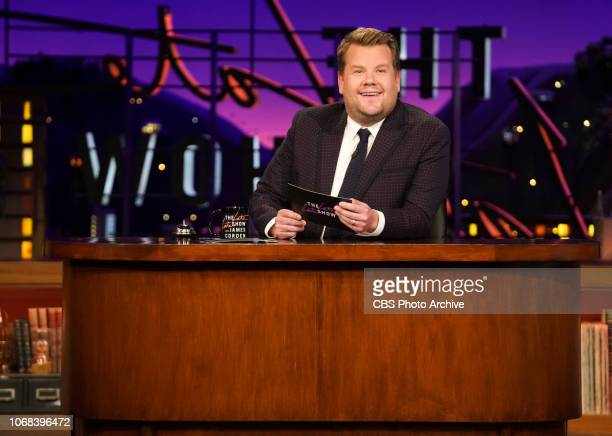 Rosamund Pike and Zlatan chat James Corden during The Late Late Show with James Corden Airing Wednesday October 24th 2018 On The CBS Television...