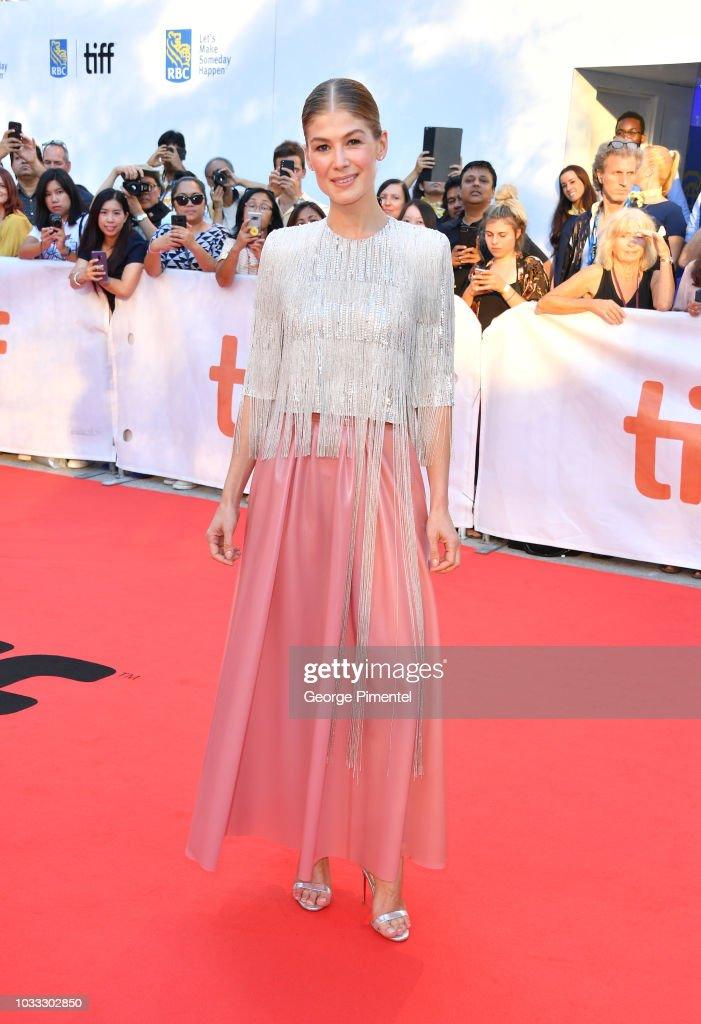 "CAN: 2018 Toronto International Film Festival - ""A Private War"" Premiere - Red Carpet"
