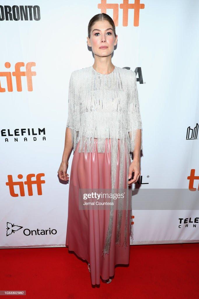 "CAN: 2018 Toronto International Film Festival - ""A Private War"" Premiere - Arrivals"