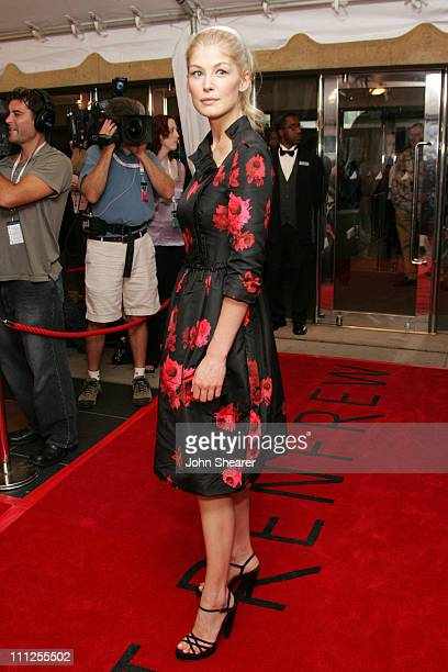 Rosamund Pike during 2005 Toronto Film Festival Pride and Prejudice Premiere at Roy Thompson Hall in Toronto Canada