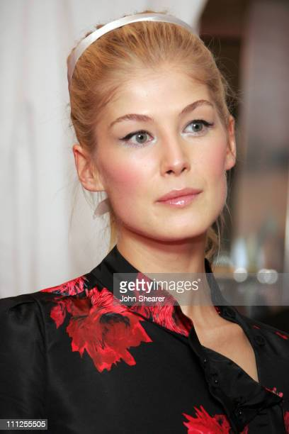 Rosamund Pike during 2005 Toronto Film Festival 'Pride and Prejudice' Premiere at Roy Thompson Hall in Toronto Canada