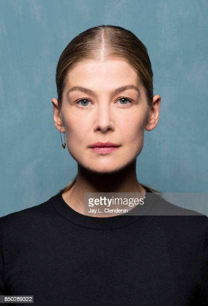 Rosamund Pike from the film 'Hostiles' poses for a portrait at the 2017 Toronto International Film Festival for Los Angeles Times on September 8 2017...