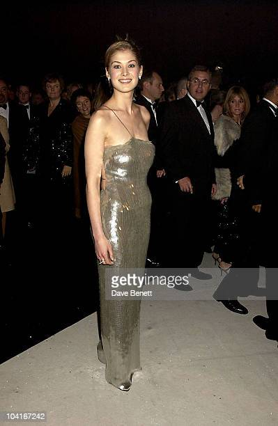 Rosamund Pike 'James Bond Die Another Day' World Premiere Party At The Royal Albert Hall In London