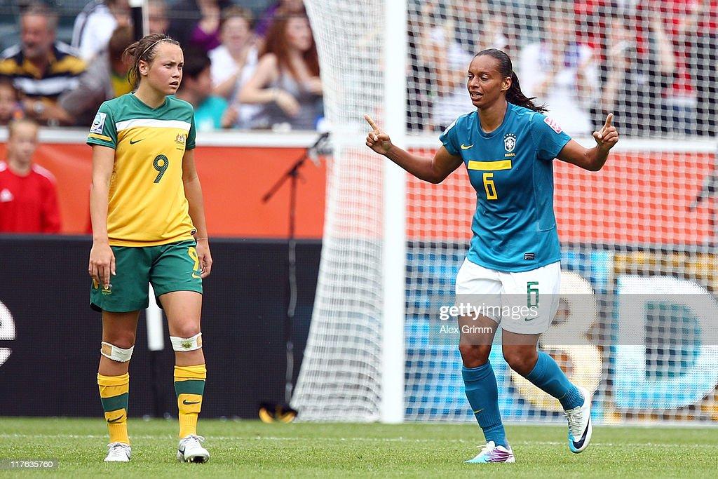 Brazil v Australia: Group D - FIFA Women's World Cup 2011