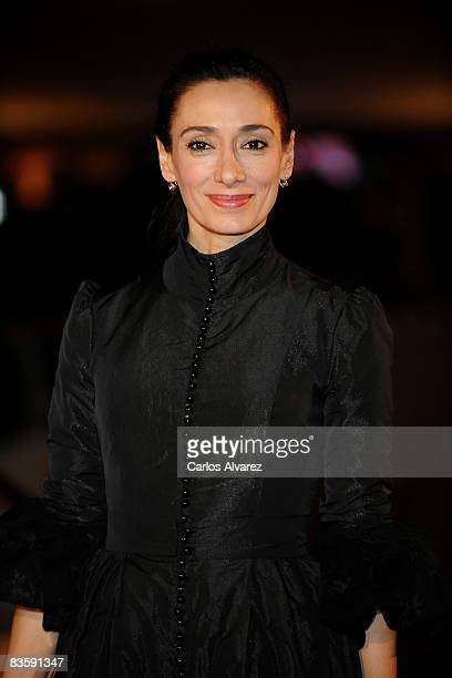 Rosana Pastor attends the Quantum of Solace premiere at the Palau de las Arts on November 06 2008 in Valencia Spain