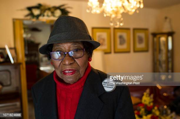 Rosanell Eaton is photographed at her home in Louisburg North Carolina on Thursday January 21 2016 Eaton is suing the State of North Carolina over a...