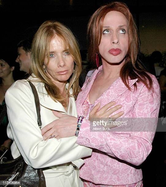 Rosanna Arquette and Alexis Arquette during 2005 Los Angeles Film Festival November Reception and Screening at Directors Guild of America in Los...