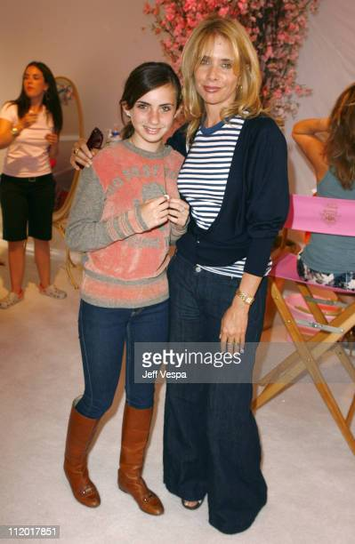 Rosanna Arquette and daughter Zoe Sidel during Kidada Jones Hosts Kidada for Disney Coutour Party at Private Residence in Bel Air California United...