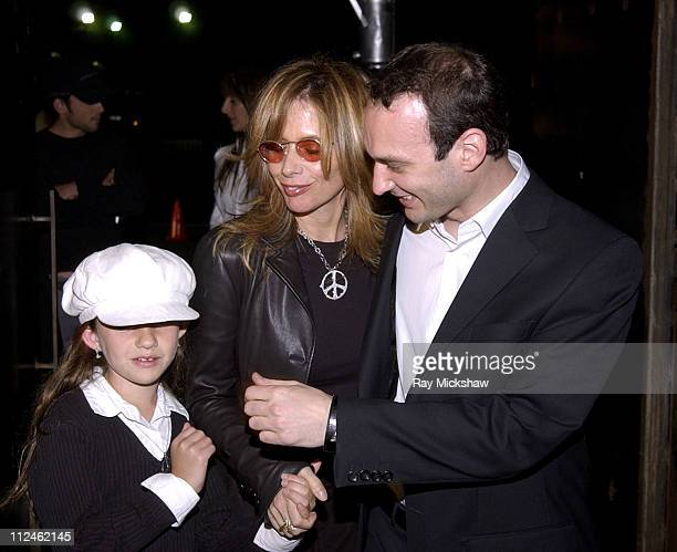 Rosanna Arquette and daughter Zoe with Jeff Vespa during Motorola Hosts Opening of Hollywood Graffiti First Exhibition from Artist Jeff Vespa to...