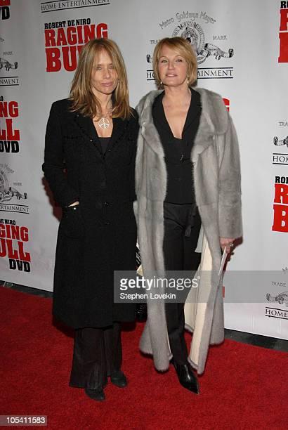 "Rosanna Arquette and Ellen Barkin during ""Raging Bull"" 25th Anniversary and Collector's Edition DVD Release Celebration at Ziegfeld Theatre in New..."