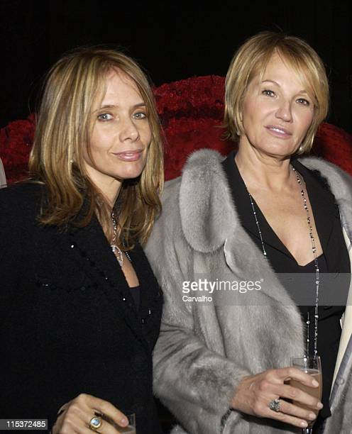 """Rosanna Arquette and Ellen Barkin during """"Raging Bull"""" 25th Anniversary and Collector's Edition DVD Release Celebration - After Party at Cipriani's..."""