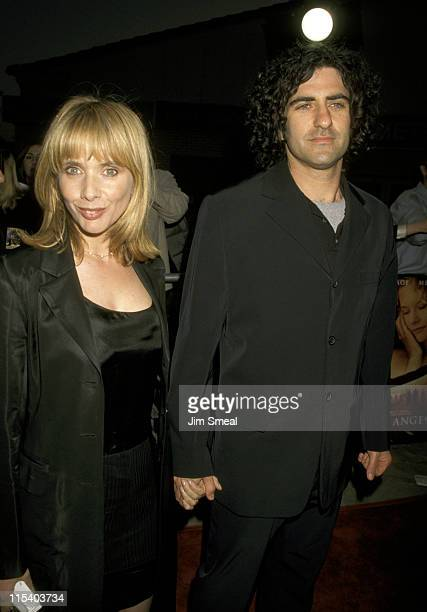 Rosanna Arquette and Husband John Sidel during City of Angels Los Angeles Premiere at Mann Village Theatre in Westwood California United States