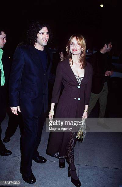 Rosanna Arquette and John Sidel during Premiere of Lost Highway at Cinerama Dome in Hollywood California United States