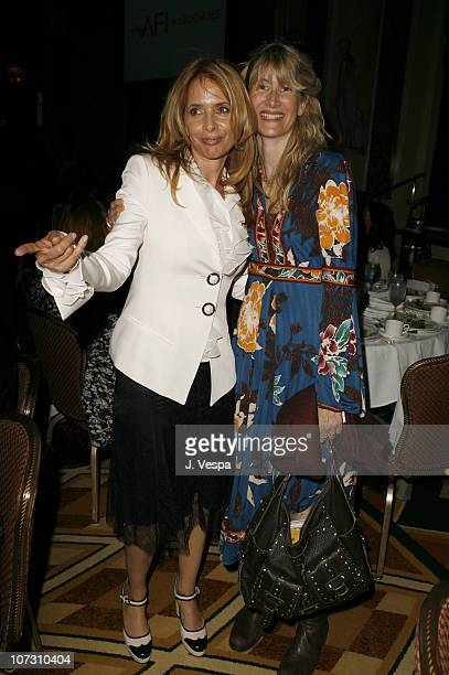 Rosanna Arquette and Laura Dern during AFI Honors Hollywood's Arquette Family With The Sixth Annual 'Platinum Circle Awards' Green Room and Show in...