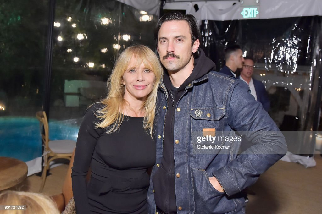 Esquire and the Medavoys host a party to celebrate the Golden Globes, presented by Maserati - Inside : News Photo
