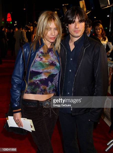 Rosanna Arquette and Russell Irwin during 'How to Lose a Guy in 10 Days' Premiere at Cinerama Dome in Hollywood California United States