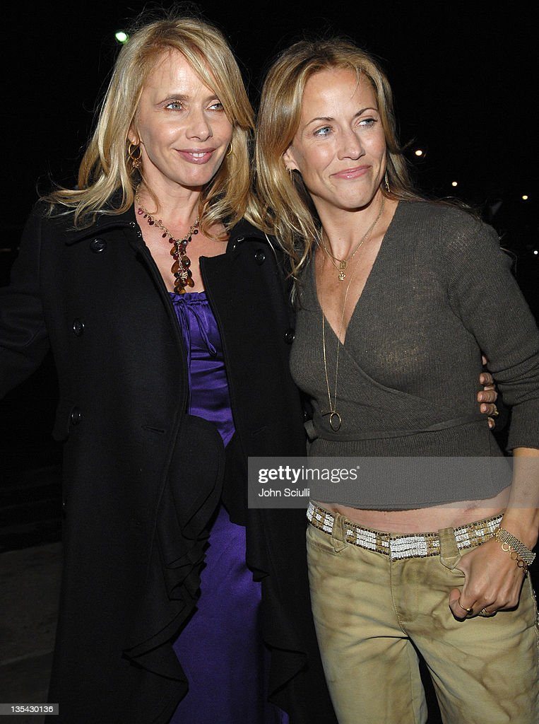 Rosanna Arquette and Sheryl Crow during 'Inland Empire' Los Angeles Premiere - Red Carpet and Q&A at Bing Theater at LACMA Museum in Los Angeles, California, United States.