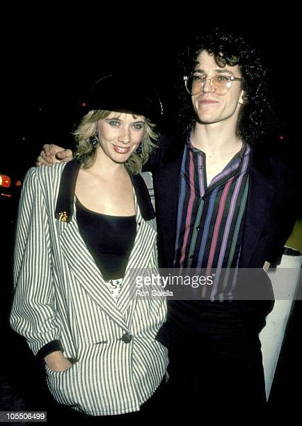 Rosanna Arquette and Steve Pocaro during Rosanna Arquette and Steve Pocaro at Chasen's Restaurant July 1 1983 at Chasen's Restaurant in Beverly Hills...