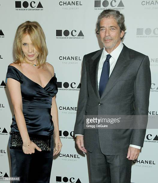 Rosanna Arquette and Todd Morgan arrive at The Museum of Contemporary Art Los Angeles as it presents The Artist's Museum Happening on November 13...