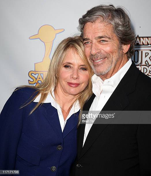 Rosanna Arquette and Todd Morgan attend 37th Annual Saturn Awards at The Castaway on June 23 2011 in Burbank California