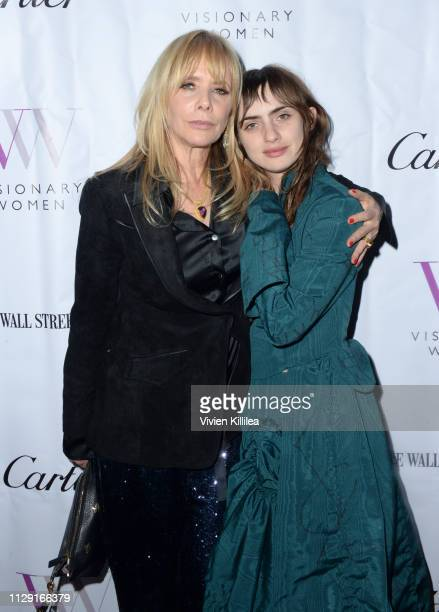 Rosanna Arquette and Zoe Bleu Sidel attend Visionary Women's International Women's Day Honoring Patricia and Rosanna Arquette at Spago on March 7,...