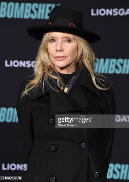 """Rosanna Arquette arrives at the Special Screening Of Liongate's """"Bombshell"""" at Regency Village Theatre on December 10, 2019 in Westwood, California."""