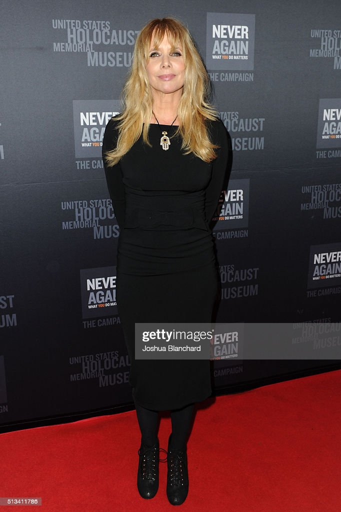 Rosanna Arquette arrives at the United States Holocaust Memorial Museum presents 2016 Los Angeles Dinner: What You Do Matters at The Beverly Hilton Hotel on March 2, 2016 in Beverly Hills, California.