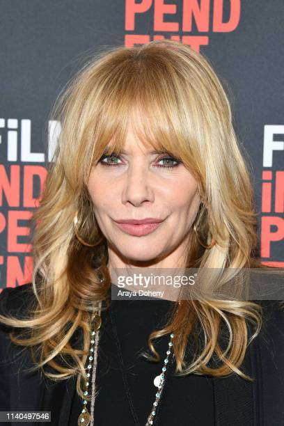 Rosanna Arquette at Film Independent Presents The Conversation: Rosanna Arquette at Film Independent Screening Room on April 04, 2019 in Los Angeles,...